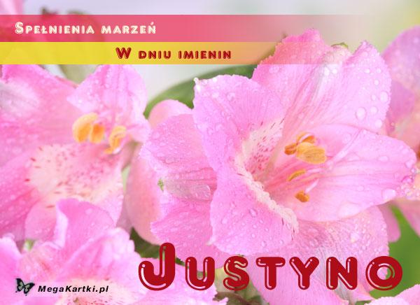 Dla Justyny