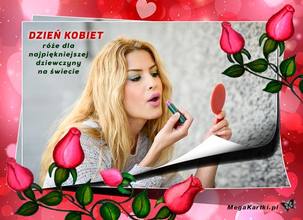 Róże na Dzień Kobiet
