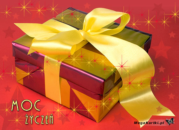 Kartka i prezent
