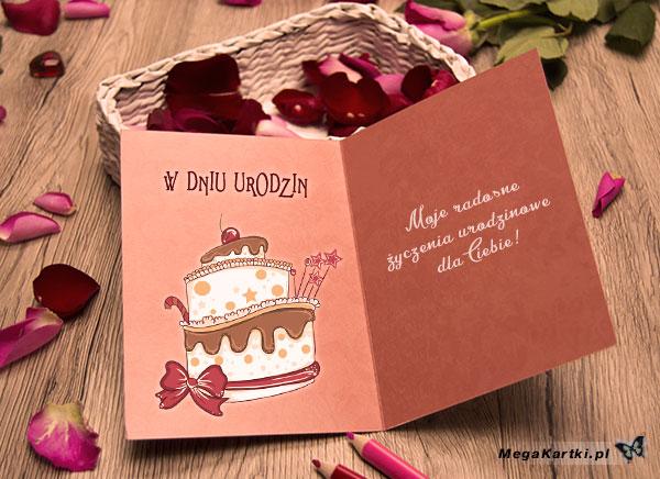 Różane życzenia urodzinowe