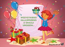 E Kartka Urodzinowa Fantazja E Kartka Urodzinowe Megakartki