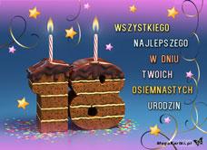 18 Urodziny Zyczenia