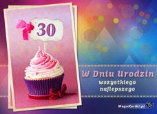 Darmowe E Kartki Z Tag 30 Urodziny Kartki Darmowe Mega