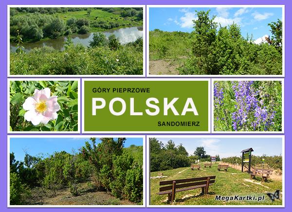Sandomierz - Góry Pieprzowe