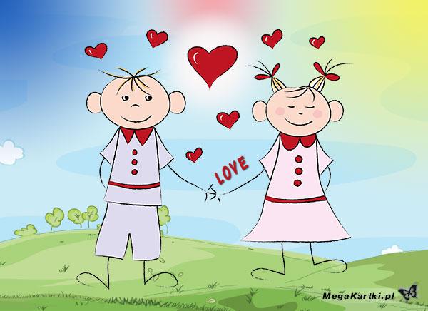 Para zakochanych