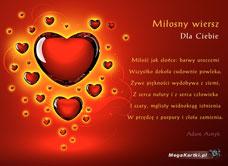 Miłosny Wiersz Darmowa E Kartka Z Kategorii Miłość