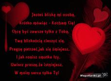 Wiersz Miłosny Darmowa E Kartka Z Kategorii Miłość