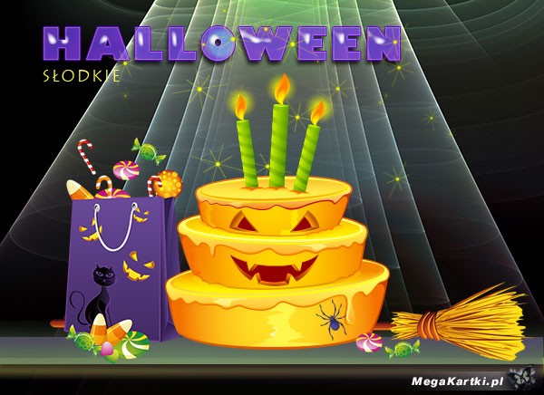 Słodkości w Halloween
