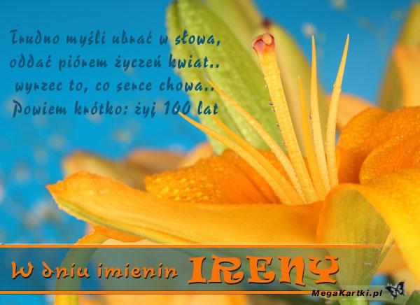 W dniu imienin Ireny