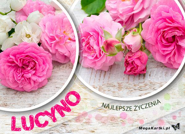 Życzenia dla Lucyny