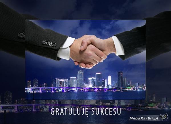 Gratuluję sukcesu
