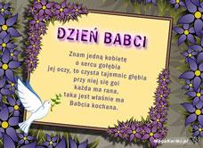 życzenia Dla Babci Darmowa E Kartka Z Kategorii Dzień