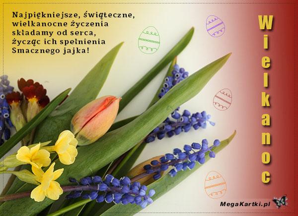 Wielkanocny bukiet