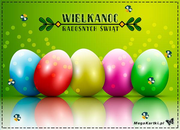Kolorowe jajeczka