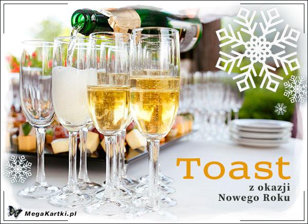 Toast z okazji Nowego Roku