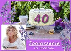 Darmowe E Kartki Z Tag 40 Urodziny Megakartki